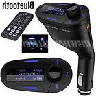 Bluetooth Wireless Car Kit FM Transmitter LCD Auto MP3 Playe