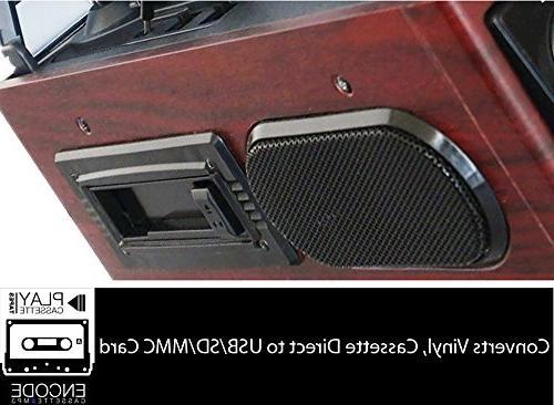 Boytone 2 Built Large Display AM/FM, Cassette, USB/SD/AUX/MP3, Headphone