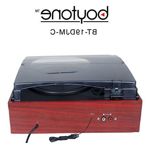 Boytone 2 Large Digital AM/FM, WMA Headphone + Remote Control