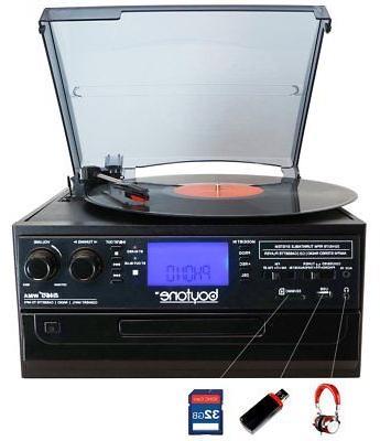 Boytone Turntable Cassette
