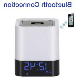 Boytone BT-84CB Portable FM Radio Alarm Clock Wireless Bluet