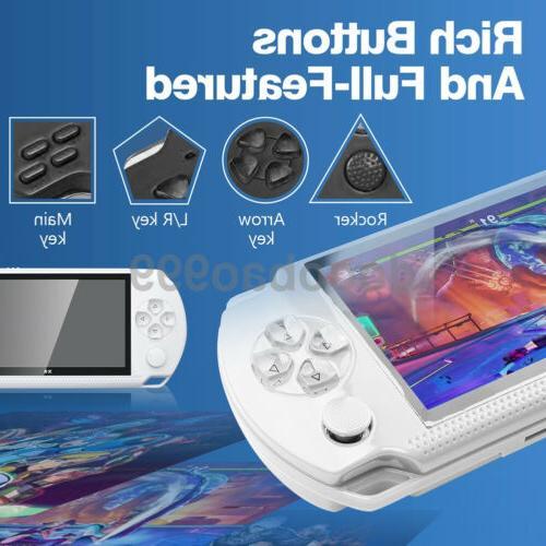 Built-In 10000 Handheld Video Player