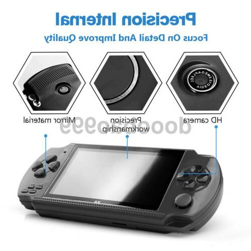 Built-In 10000 Game Portable Handheld Video Player Free