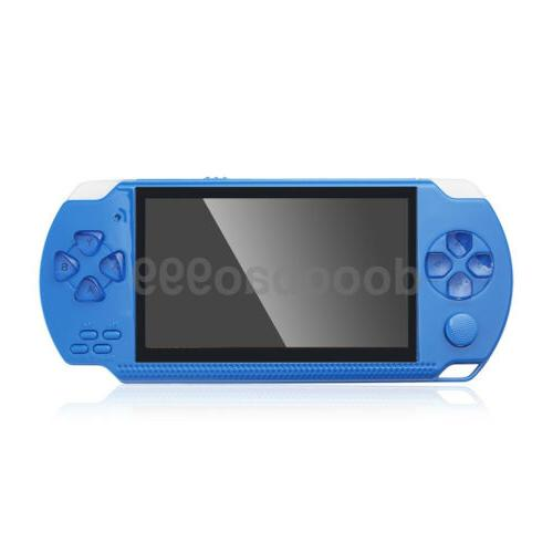 Built-In Handheld Video Game Player Retro