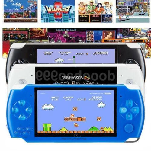 built in 10000 game portable handheld video
