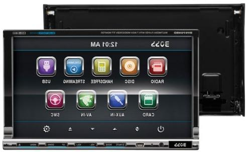 BOSS AUDIO 7 DVD Player Receiver, Detachable Front Panel, Remote