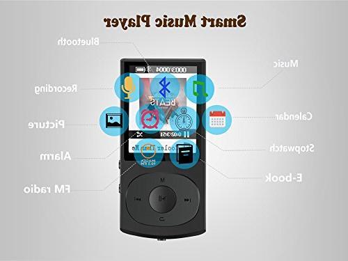 4.0 MP3 Player, Metal Shuffle Radio, Up to