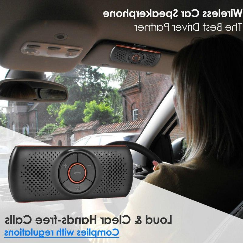 Car 4.2 Speakerphone Stereo <font><b>Player</b></font> Mic/Tf Card <font><b>Player</b></font> Hands Free