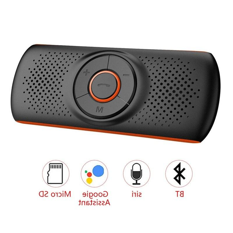 car bluetooth 4 2 car speakerphone stereo