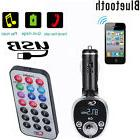 Car Bluetooth Kit MP3 Player FM Transmitter Wireless Radio A