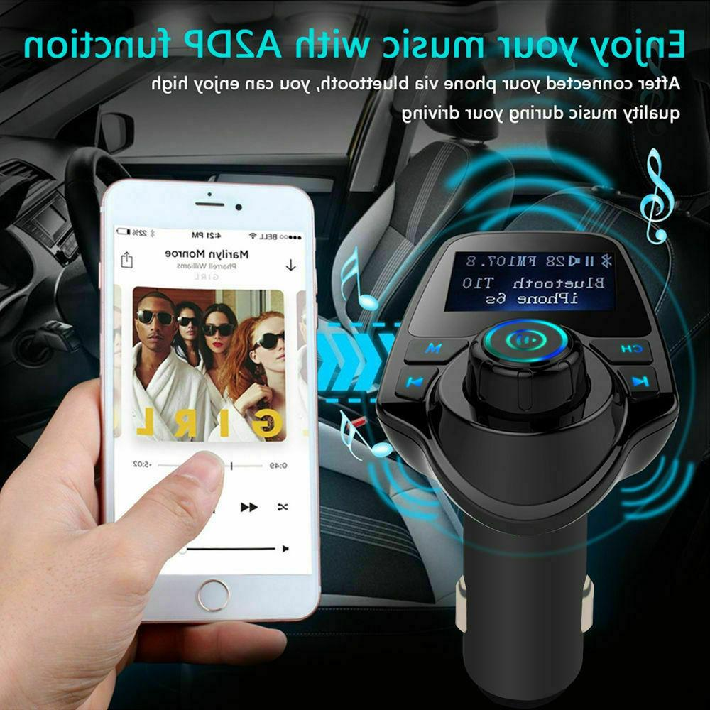 Car FM Transmitter Player Charger