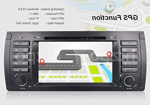 in Dash GPS Stereo Inch Din Touch Bluetooth 4.0 Sub Control with GPS Bluetooth