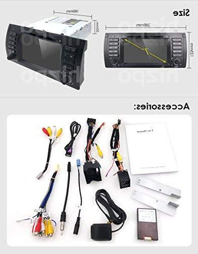 hizpo in Stereo Din Multimedia Bluetooth Control Stereo GPS and Bluetooth
