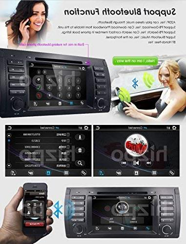 hizpo Car in Dash GPS Stereo 7 Din Touch Bluetooth 4.0 Control Car GPS