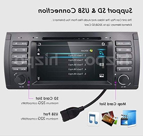 hizpo Player in Stereo Din Touch Screen Bluetooth Control Stereo GPS Bluetooth