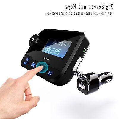 Car Kit Handsfree FM Transmitter Radio