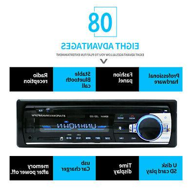 Car Stereo Aux Input SD USB MP3 Player
