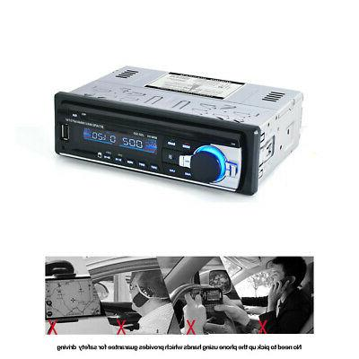 Car Stereo Audio Aux Receiver SD USB MP3 Radio Player