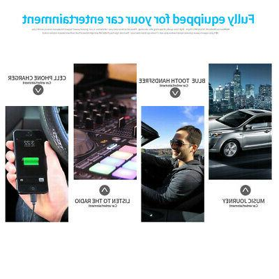 Car In-Dash Aux Input Receiver SD MP3 Radio Player