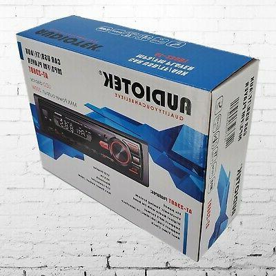Car Stereo Audio In-Dash FM Aux Input Receiver SD Radio