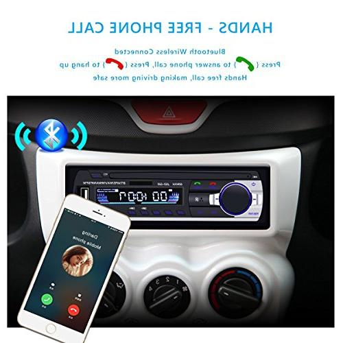 Car with Bluetooth, Huicocy Din Radio MP3 Player/USB/SD with