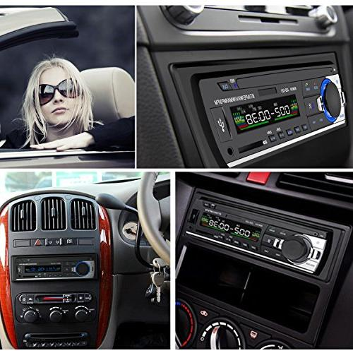 Car Stereo Huicocy Din MP3 Player/USB/SD Card/AUX/FM Radio with