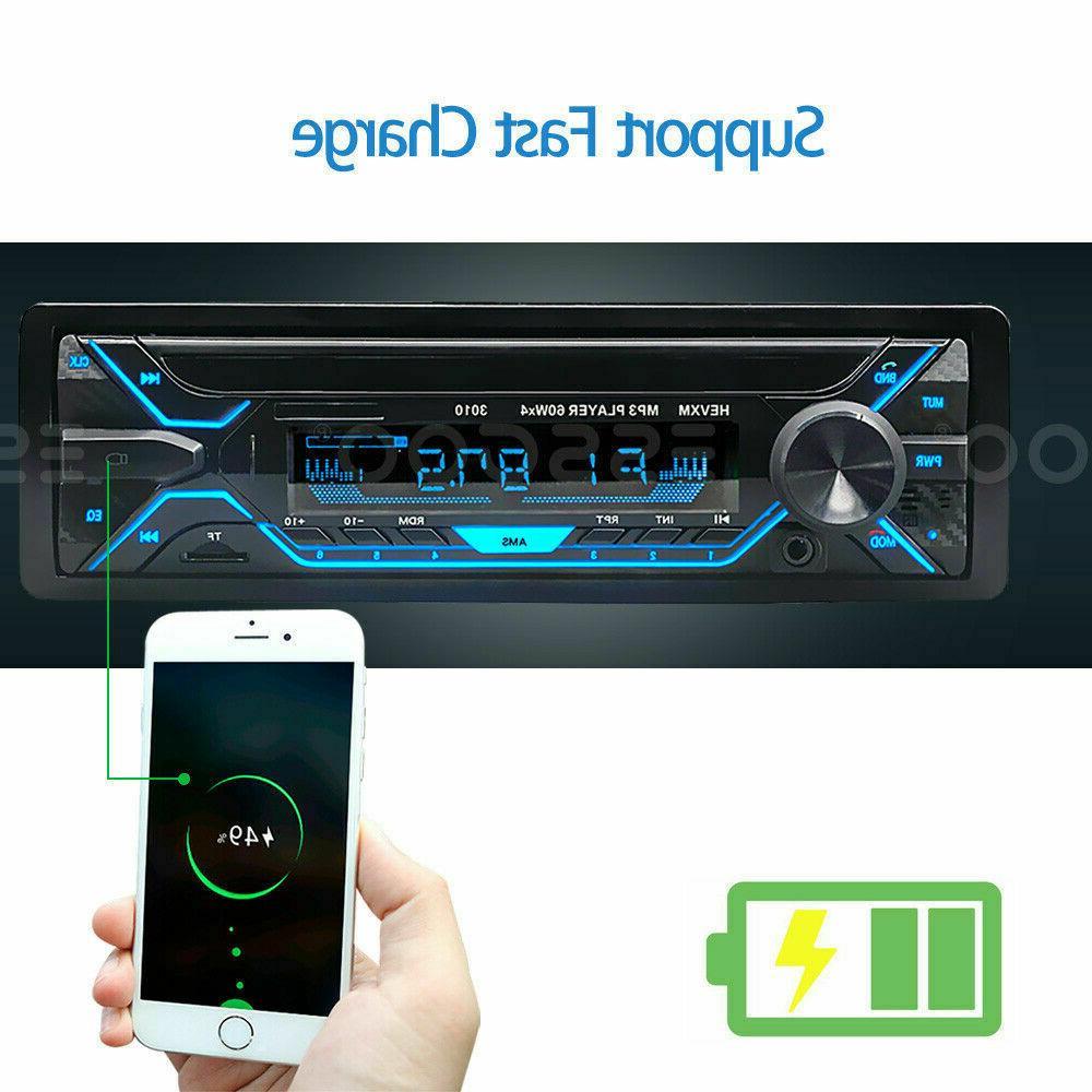 Car Bluetooth AUX FM In-dash