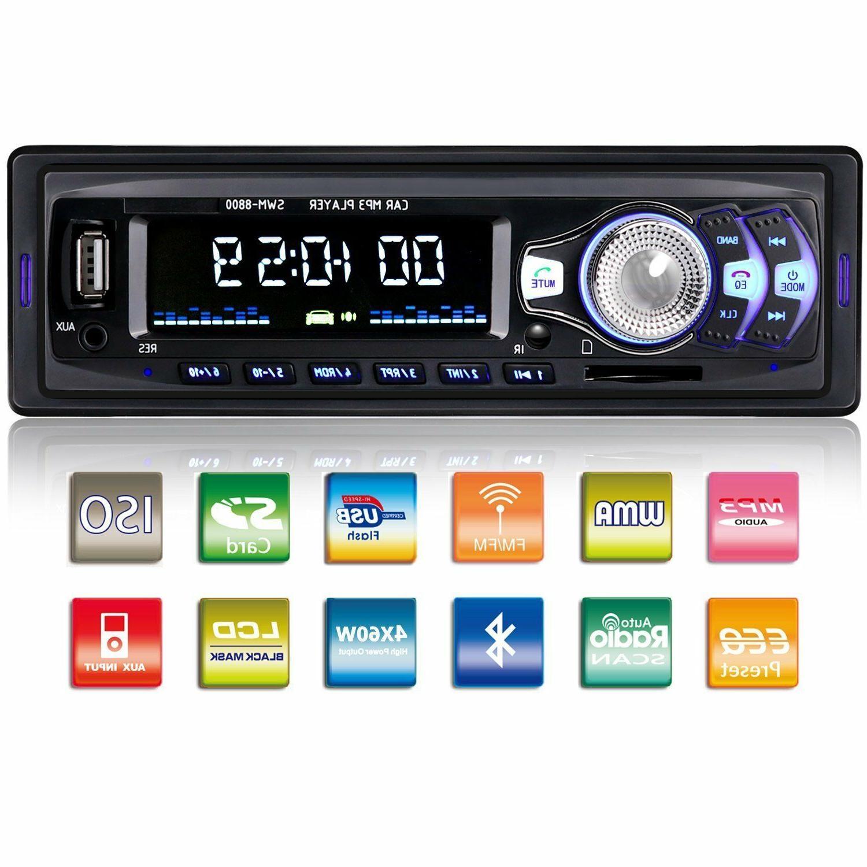 car stereo radio bluetooth dash