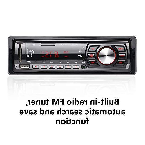 radio Support Card U 12V, car MP3 Player,