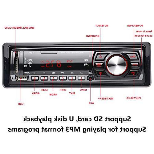 radio Car Support Card U 12V, Player,