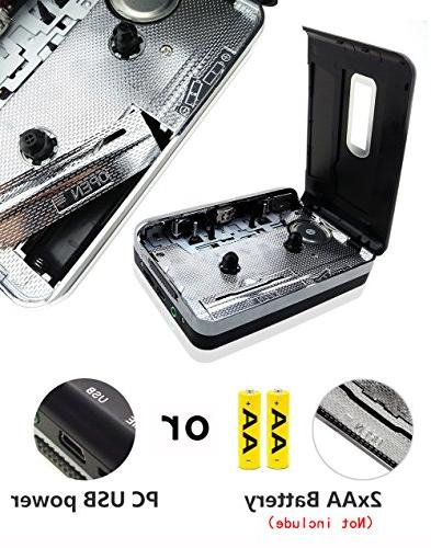 Cassette USB Player with Portable to Digital