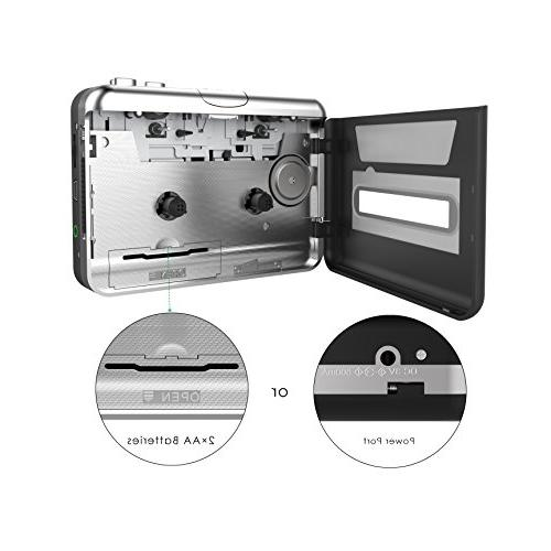 Cassette USB Cassette Recorder to Walkman for Laptop and