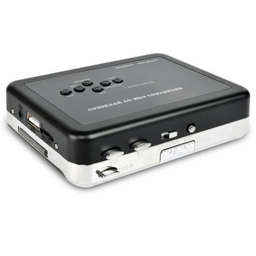Cassette to MP3 Converter Player Music Recorder Save USB