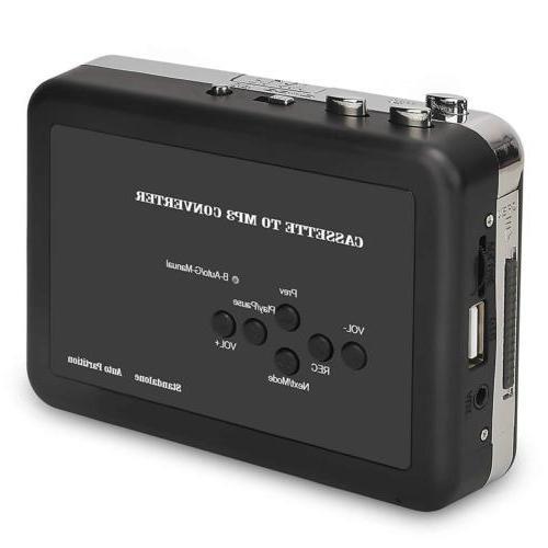 Cassette Tape to MP3 Converter Digital Audio Music Save USB