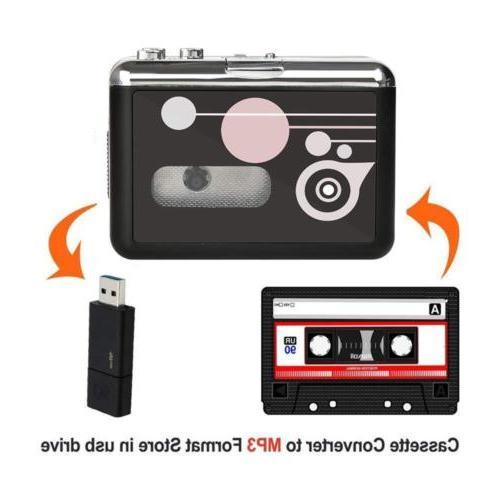 Cassette MP3 Converter Music into USB