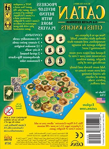 Catan: and Knights 5-6 Extension
