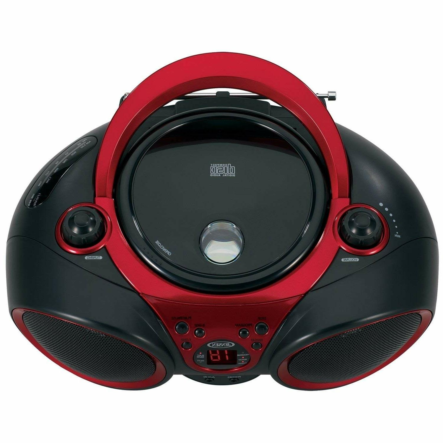 CD-490 Portable CD Player AM/FM Radio and