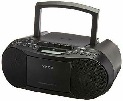 cfds70 blk cd mp3 cassette boombox home