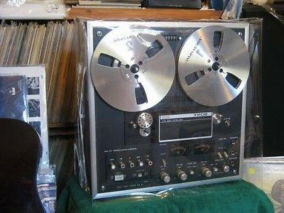 CLEAR VINYL DUST COVER FOR A REEL TO REEL TAPE RECORDER/ PLA