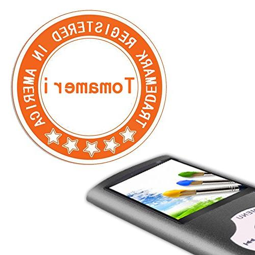 Tomameri - MP3 / MP4 Player Rhombic Including 16 GB Card and Support to Video Supported
