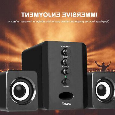 mini usb computer desktop speakers stereo surround