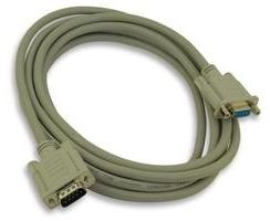 L-com Connectivity CS2N9MF-10 Cable; Premium Molded; Straigh