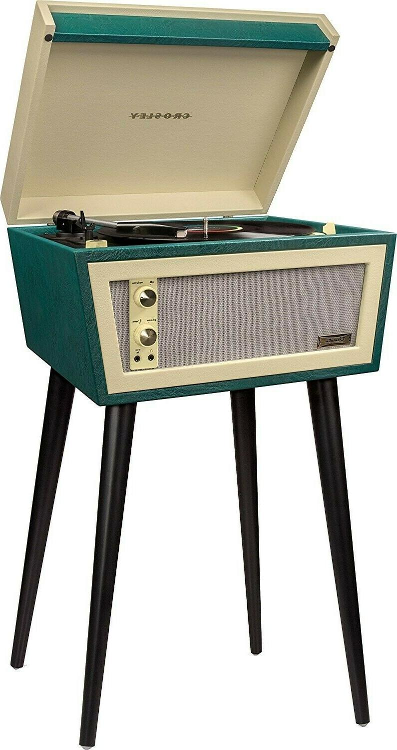 cr6231d turntable record player w