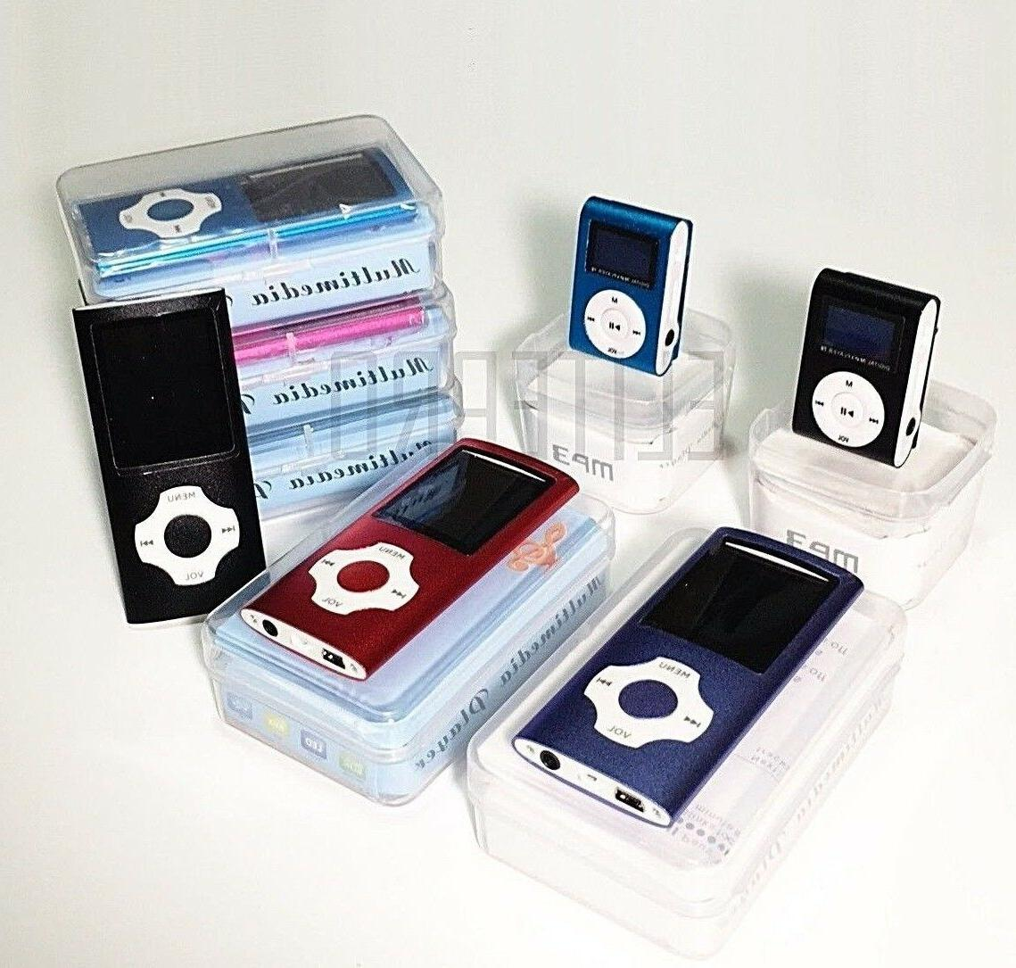 digital compact portable mp3 mp4 player 64