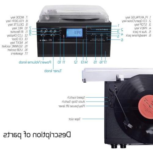 Digitnow! Bluetooth Player Vinyl