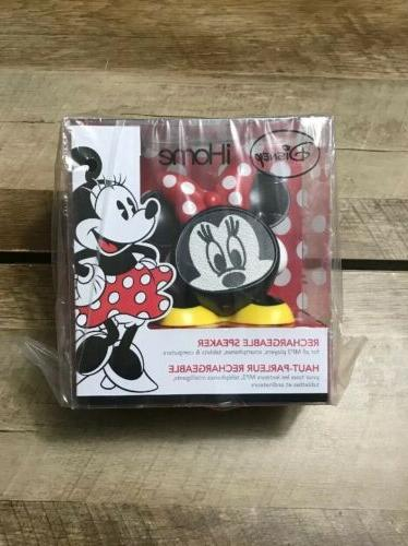 disney minnie mouse rechargeable speaker for mp3