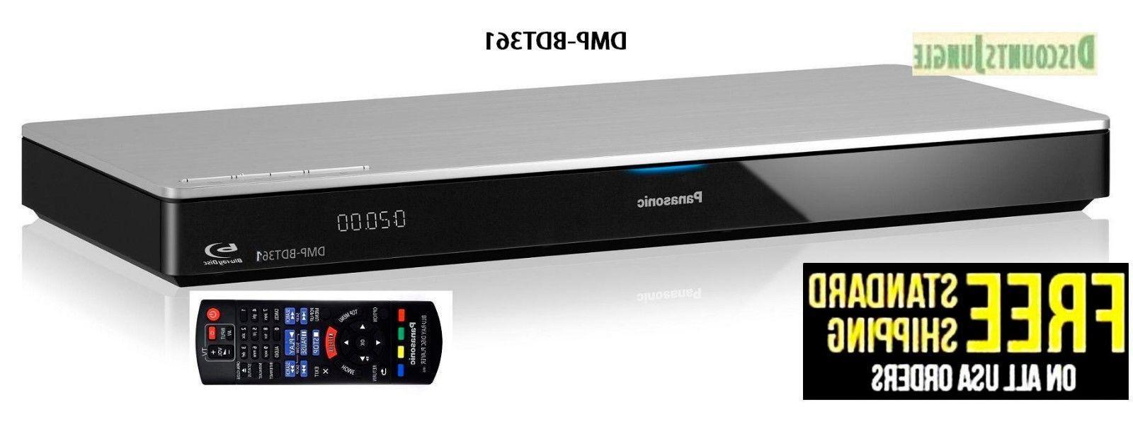 Panasonic DMP-BDT361 3D Smart Network Blu-Ray 4K HD Disc/DVD