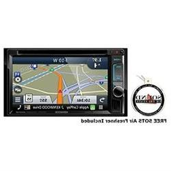 Kenwood DNX573S 6.2 DVD CD Navigation Receiver with a FREE S