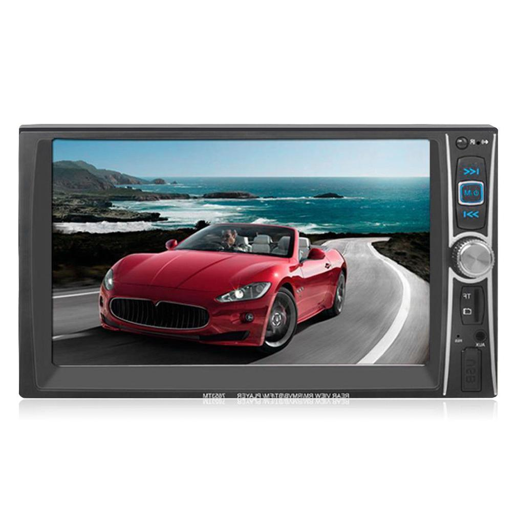Double 2Din Stereo In Dash Ipod TV