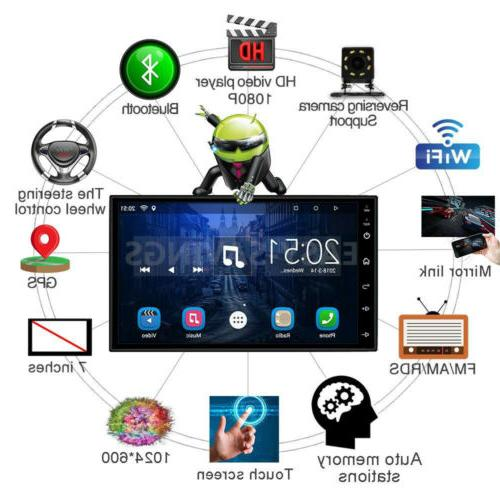 "Double Android 7"" 1080P Stereo QUAD-Core"